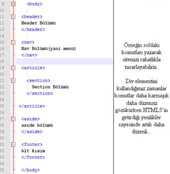 html5 tasarim kodu